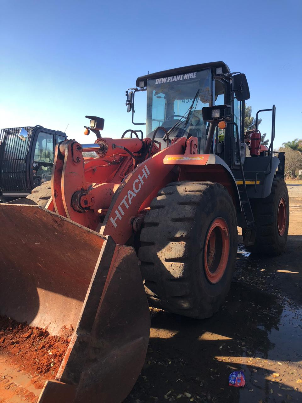 Front End Loader Plant Hire